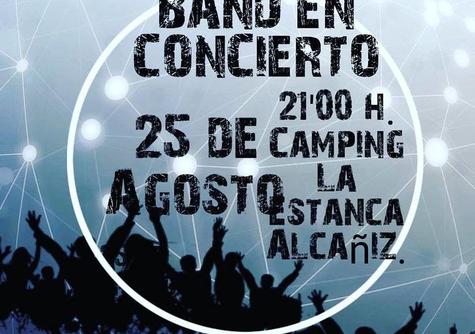 Concierto de los Perversiones Band en Camping la Estanca
