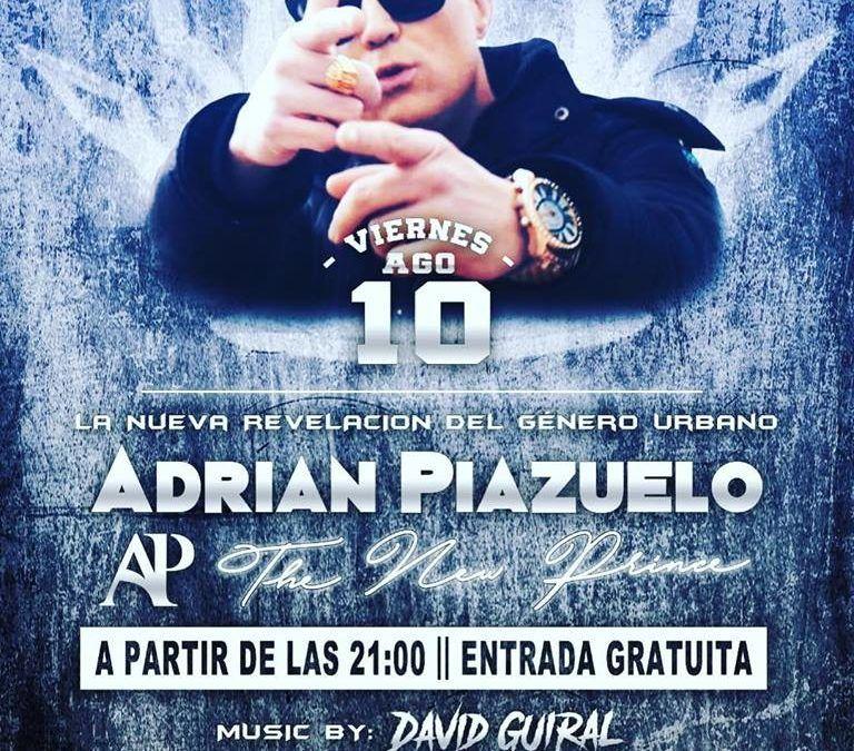 Fiesta con Adrian Piazuelo