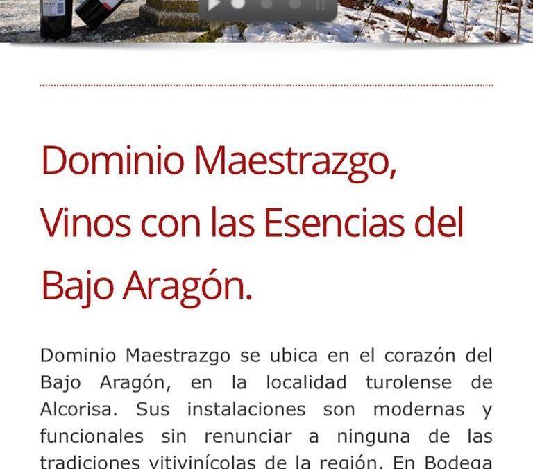 Vinos del Bajo Aragón