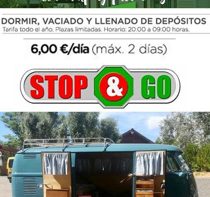 Servicio STOP&GO para autocaravanas