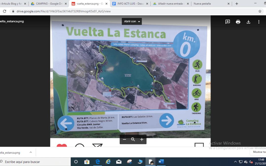 Camping La Estanca: Destino BTT